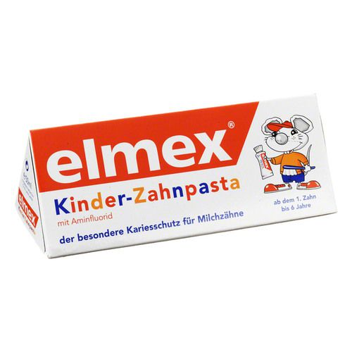 ELMEX Kinderzahnpasta m.Faltschachtel