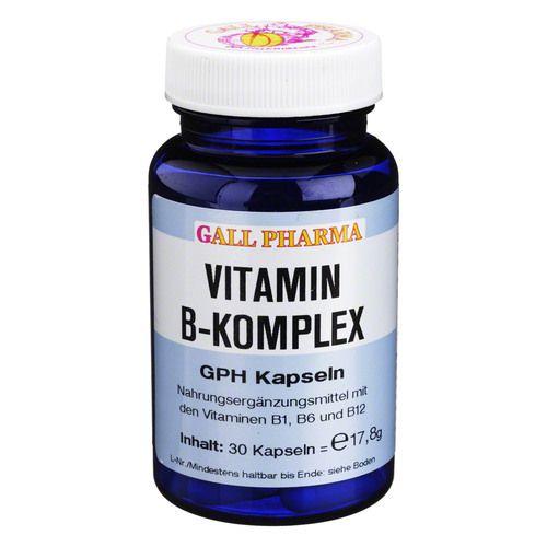 vitamin b komplex gph kapseln 30 st. Black Bedroom Furniture Sets. Home Design Ideas