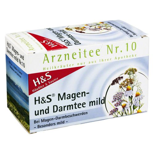 H&S Magen- und Darmtee mild Filterbeutel