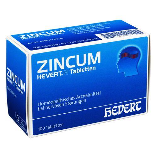 ZINCUM HEVERT N Tabletten