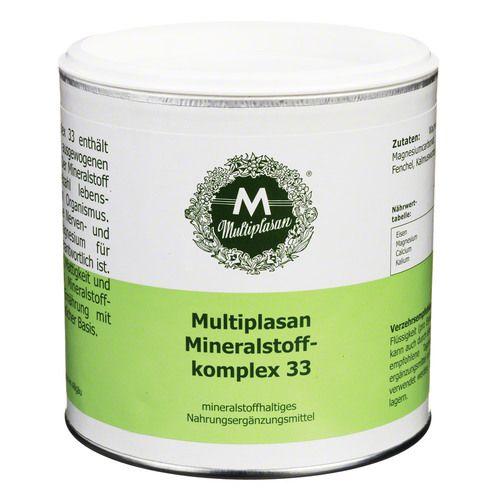 Multiplasan MINERALSTOFFKOMPLEX 33 PULVE