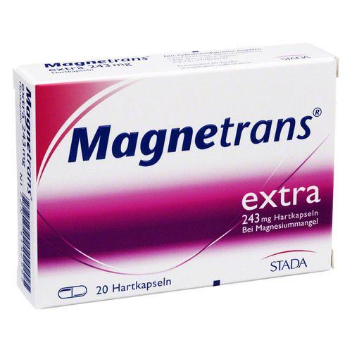 magnetrans extra 243 mg hartkapseln 20 st arzneimittel versandapotheke. Black Bedroom Furniture Sets. Home Design Ideas