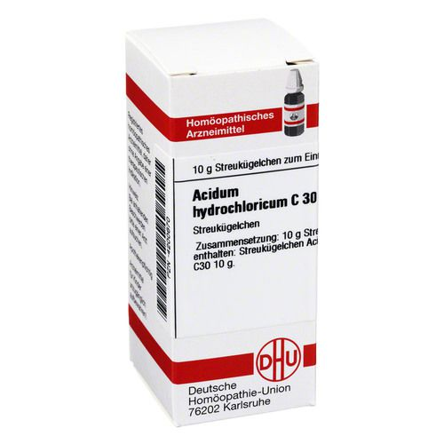 ACIDUM HYDROCHLORICUM C 30 Globuli