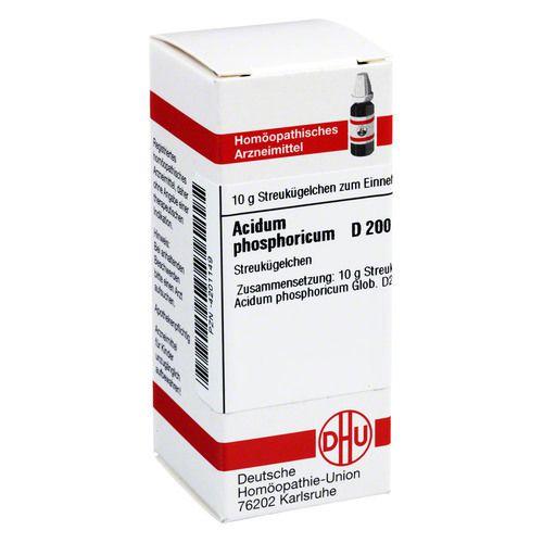 ACIDUM PHOSPHORICUM D 200 Globuli