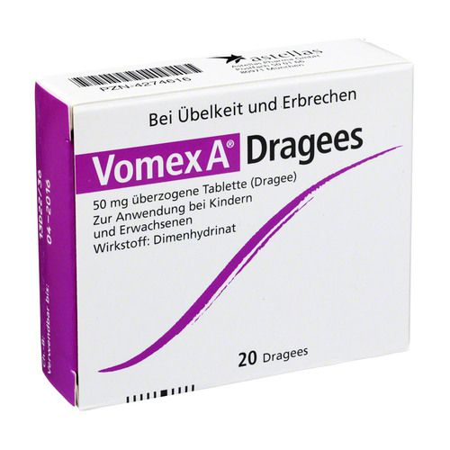 VOMEX A Dragees N