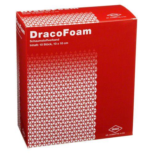 dracofoam schaumstoff wundauflage 10x10 cm 10st bodfeld apotheke. Black Bedroom Furniture Sets. Home Design Ideas