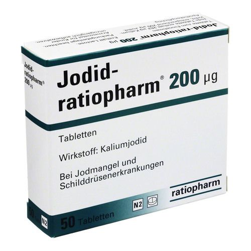 jodid ratiopharm 200 g tabletten g nstig kaufen bio apo versandapotheke. Black Bedroom Furniture Sets. Home Design Ideas