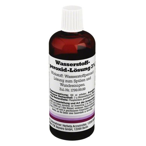 wasserstoffperoxid l sung 3 100 ml arzneimittel omp. Black Bedroom Furniture Sets. Home Design Ideas