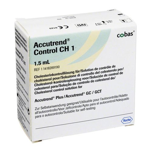 ACCUTREND Control CH 1 Lösung