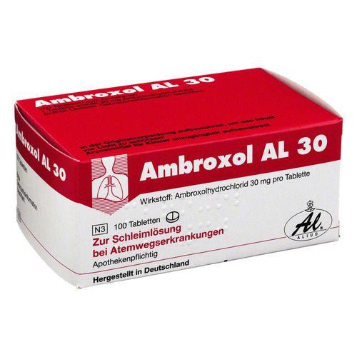 AMBROXOL AL 30 Tabletten