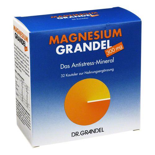 MAGNESIUM GRANDEL 300 mg Kautabletten 32 St