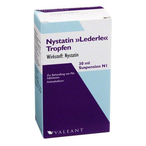 MEDA Pharma GmbH & Co. KG NYSTATIN LEDERLE Tropfen m. Pipett. 30 ml