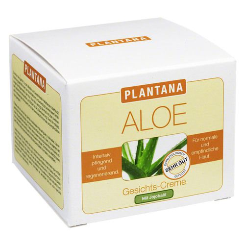 plantana aloe vera gesichts creme 50 ml. Black Bedroom Furniture Sets. Home Design Ideas
