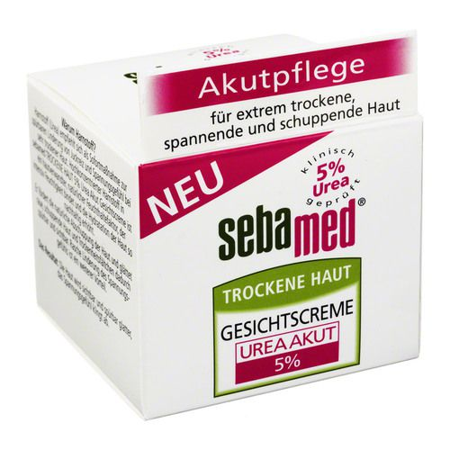 sebamed trockene haut 5 urea akut gesichtscreme 50 ml marken unsere produkt vielfalt. Black Bedroom Furniture Sets. Home Design Ideas