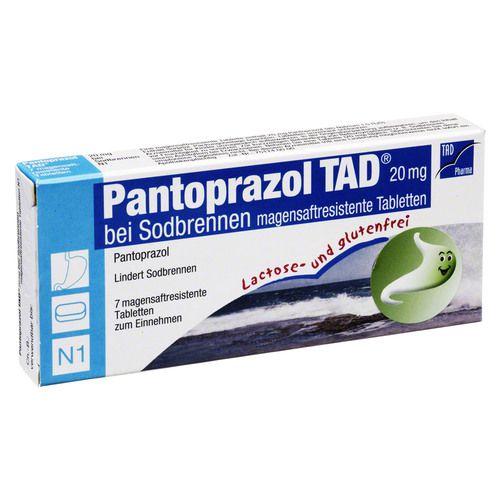 pantoprazol tad 20 mg b sodbrenn magensaftr tabl 7st. Black Bedroom Furniture Sets. Home Design Ideas