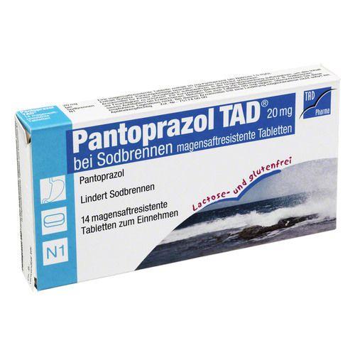 pantoprazol tad 20 mg b sodbrenn magensaftr tabl 14st. Black Bedroom Furniture Sets. Home Design Ideas