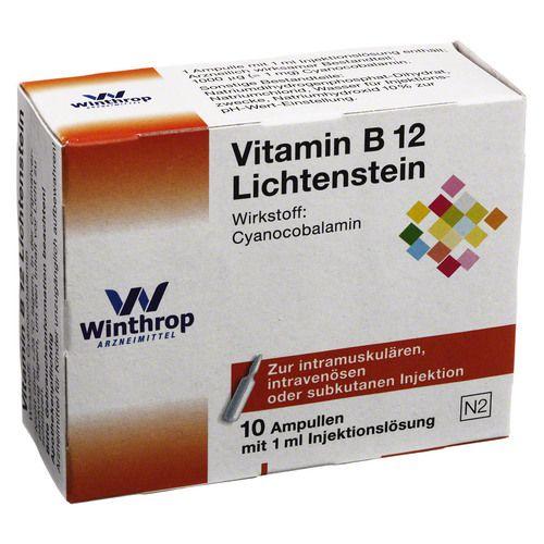 vitamin b12 g lichtenstein ampullen 10x1 ml. Black Bedroom Furniture Sets. Home Design Ideas