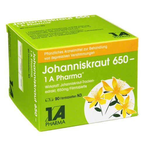 Die Nebenwirkungen (und Wechselwirkungen) von Johanniskraut