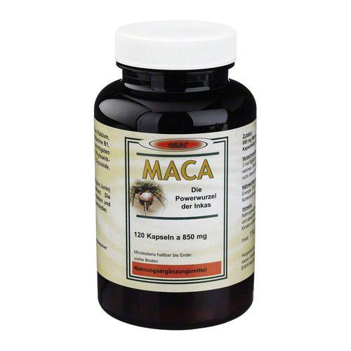 maca kapseln 850 mg macawurzelpulv a koanbau 120 st. Black Bedroom Furniture Sets. Home Design Ideas