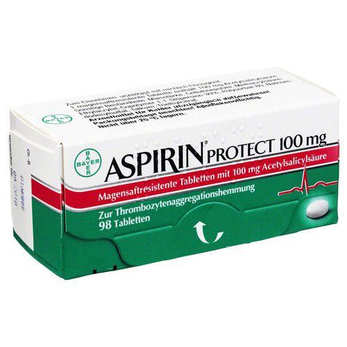 ASPIRIN Protect 100 mg magensaftres.Tabletten
