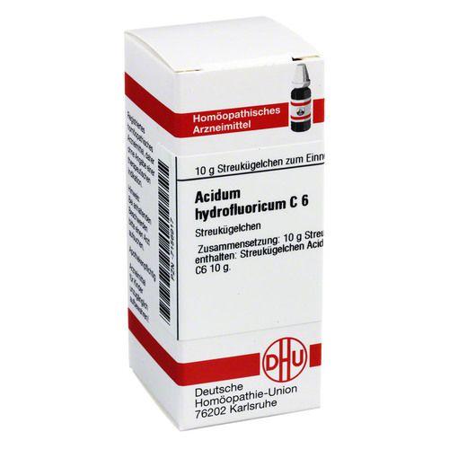 ACIDUM HYDROFLUORICUM C 6 Globuli