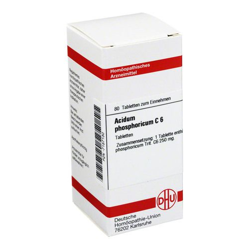 ACIDUM PHOSPHORICUM C 6 Tabletten