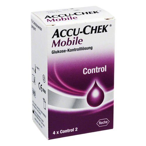 ACCU CHEK Mobile Kontrolllösung 4 Einmalapplikat.