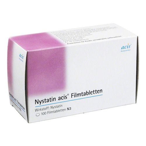 NYSTATIN acis Filmtabletten
