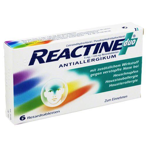 REACTINE duo Retardtabletten