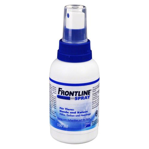 frontline spray f hunde katzen 100 ml frontline. Black Bedroom Furniture Sets. Home Design Ideas