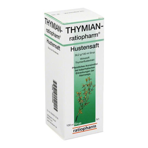 thymian ratiopharm hustensaft 100 ml husten bronchien. Black Bedroom Furniture Sets. Home Design Ideas