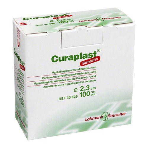 CURAPLAST Strips sensitiv rund 2,3 cm