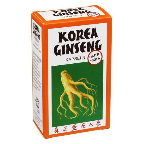 korea ginseng extra stark kapseln 80 st. Black Bedroom Furniture Sets. Home Design Ideas
