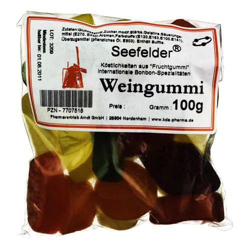 SEEFELDER Weingummi KDA 100 g