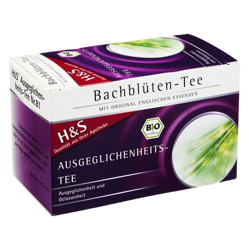 H&S Bachblüten Ausgeglichenheits-Tee Filterbeutel