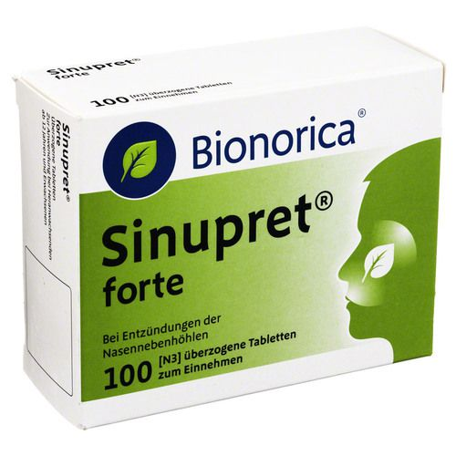 sinupret forte berzogene tabletten 100 st erk ltung medikamente asthma bronchitis copd. Black Bedroom Furniture Sets. Home Design Ideas