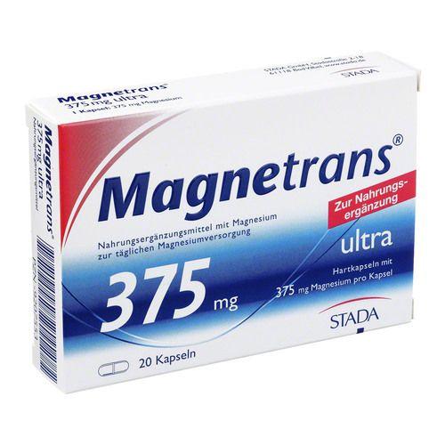magnetrans 375 mg ultra kapseln 20 st s ure base. Black Bedroom Furniture Sets. Home Design Ideas