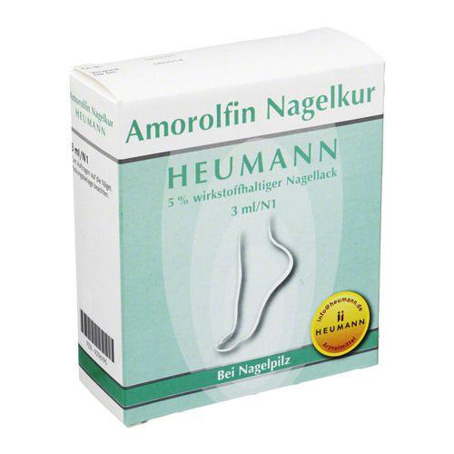 AMOROLFIN Nagelkur Heumann 5% wst.halt.Nagellack